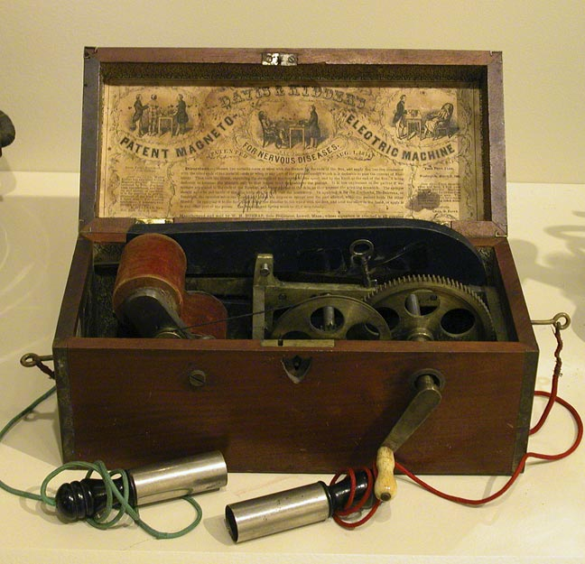 Davis and Kidders Magneto electric machine