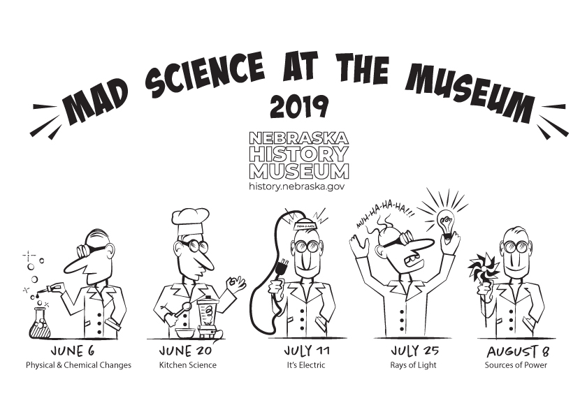 Mad Science at the Museum graphic
