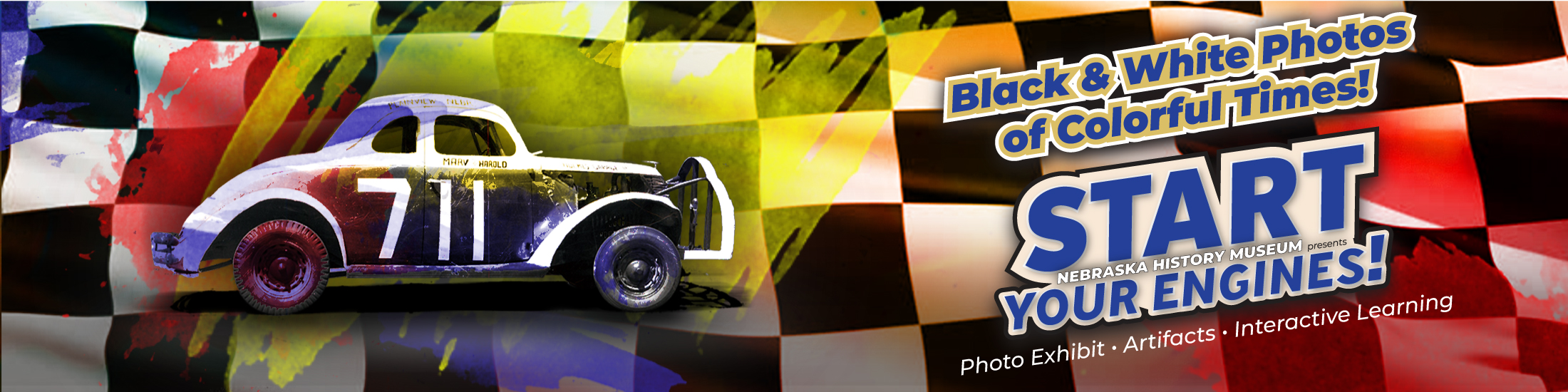 Start Your Engines banner