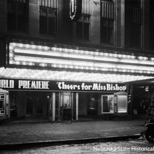 World Premiere of Cheers for Miss Bishop at the Stuart Theater [RG2183.PH001941-000122-1]