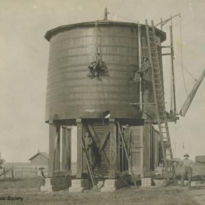 Railroad water tower in Perkins County [RG0802.PH000060-000001]