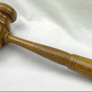 Gavel used at first Unicameral [9173-4]