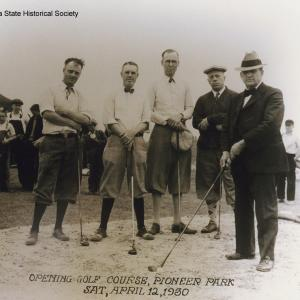 Opening day at Pioneer Park Golf Course, Lincoln, NE, 1930 [RG2158.PH000020-000016]