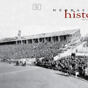 Summer 2010 issue of Nebraska History Magazine featuring Memorial Stadium 1923