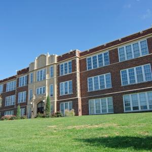 Fairbury High School and Auditorium, listed on the National Register of Historic Places in 1999