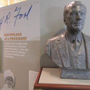 bust of Gerald Ford