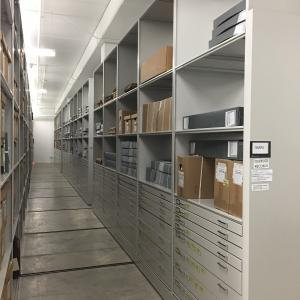 NSHS Government Records storage