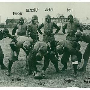 Football players, 1902
