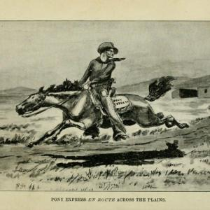 Mud Springs served the Pony Express as a home station.