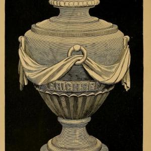This example of a cinerary urn is from Hugo Erichsen's The Cremation of the Dead (Detroit, 1887)