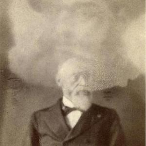 In 1861 a Boston photographer named William H. Mumler discovered that additional images would appear if a glass photographic plate was exposed twice. Some believed that these ghostly double exposures proved the existence of spirits.