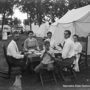 Camping in Style, ca. 1915 [RG2836.PH0-001949]