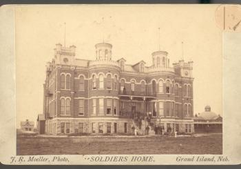 Grand Island Soldiers and Sailors Home, ca. 1888