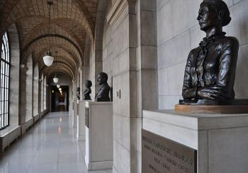 Image of the Nebraska Hall of Fame taken by user Capitolist on Wikipedia