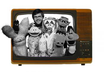 George Churley and Puppets