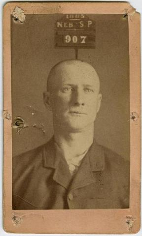 Albert Johnson Mugshot