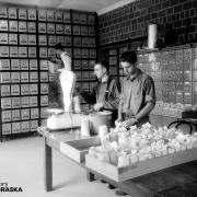NSHS Archeology Lab, May 14, 1935 (RG4290.PH0-002931)