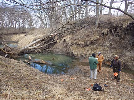 Rock Creek Station Survey - NSHS and Game and Parks staff, 2016