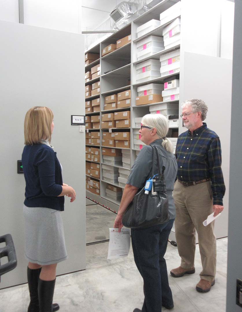 Archeology Collections during 2016 Open House