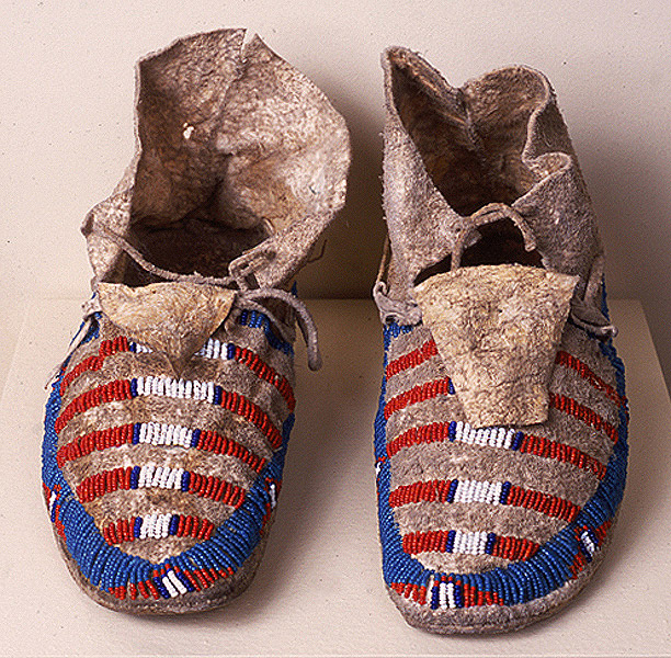 Indian-made moccasins