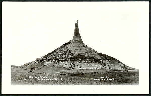 Postcard of Chimney Rock  Midwest Photo #18