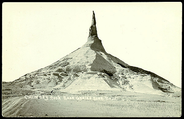Postcard of Chimney Rock #25