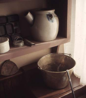 Picture of old pans and pitchers