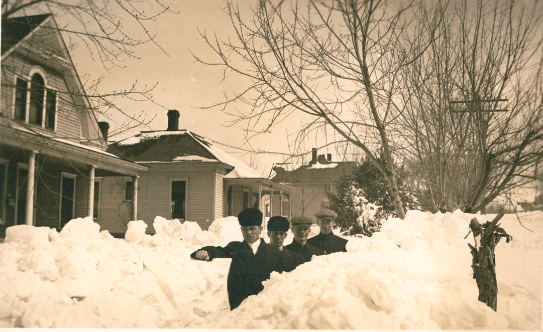 1912 blizzard in Fairbury, Nebraska (NSHS RG2083-4-48)