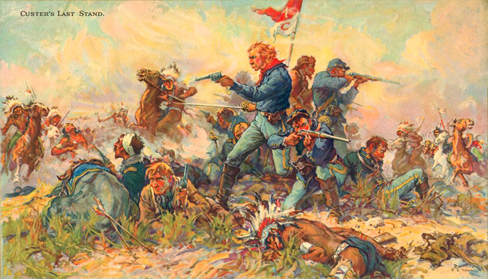 Image result for gen custer's last stand
