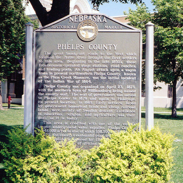 Phelps County Marker Monday
