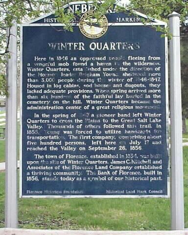 Winter quarters marker