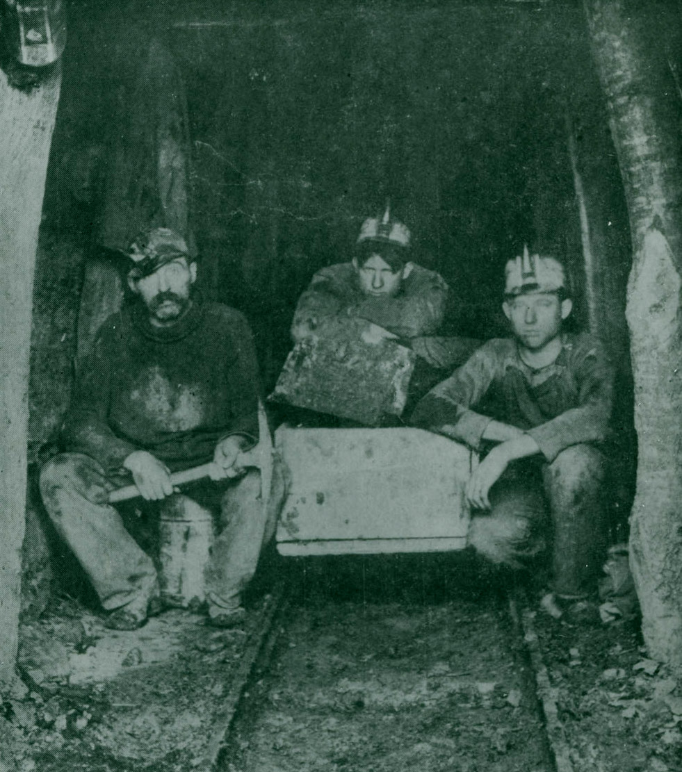 Workers at Honey Creek Coal Mine, Peru, Nebr